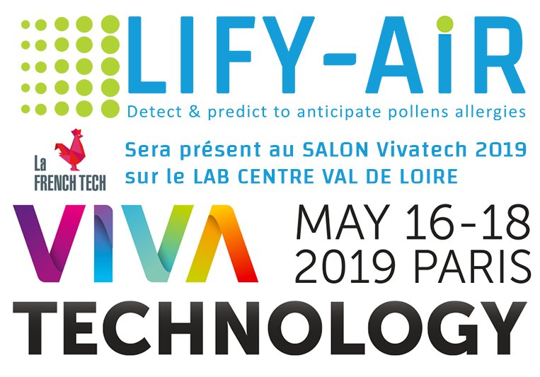 lifyair au salon vivatech du 16 mai au 18 mais 2019 à PARIS