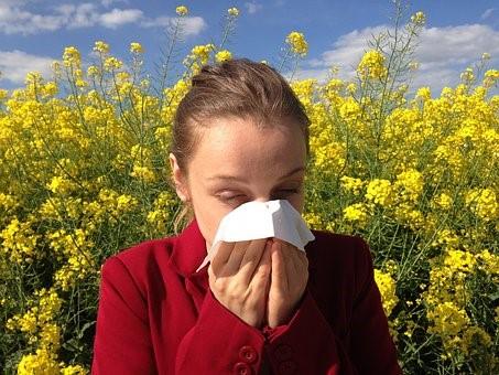 femme allergique