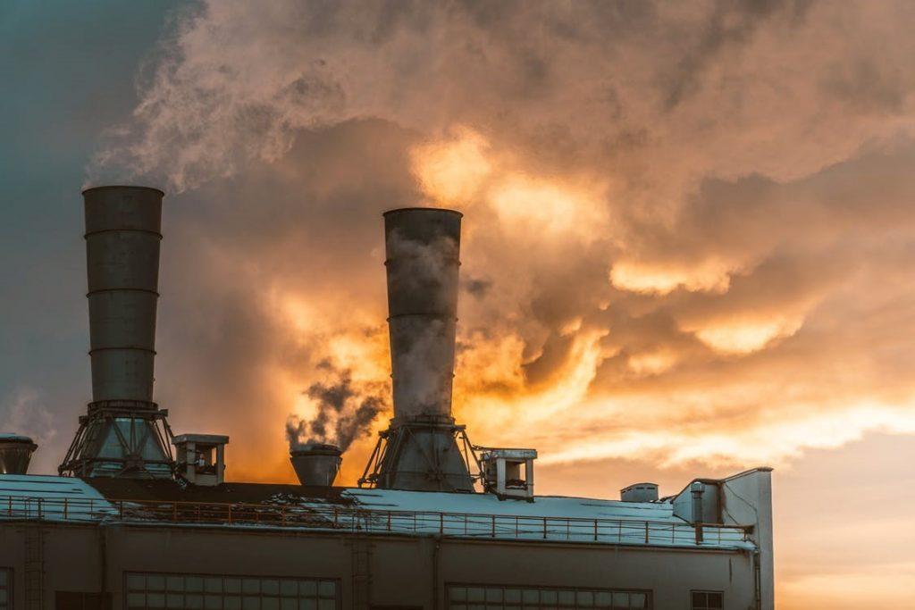 usine pollution fumées