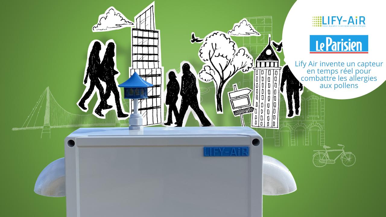 Lify Air invente un capteur en temps réel pour combattre les allergies